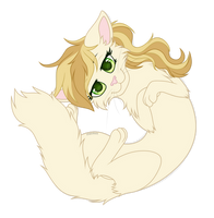 Sweet Biscuit kitty by L-Starshade