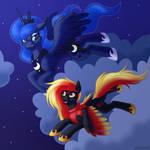 Night flight by L-Starshade