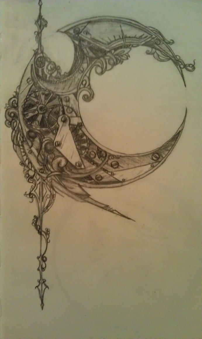 Steampunk Crescent By Nephamael On Deviantart