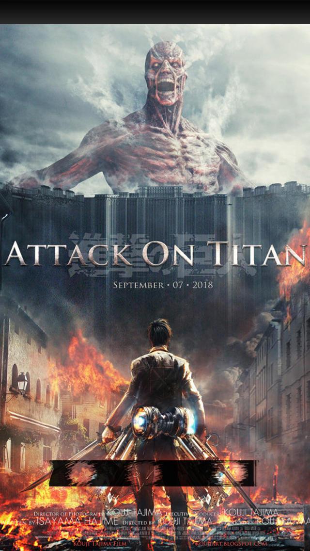 Attack On Titan Iphone 5 5s Lock Screen Wallpaper By Chchcheckit On Deviantart