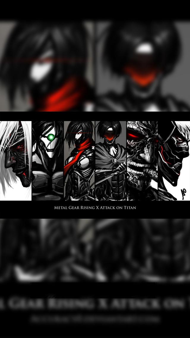 Attack On Titan Iphone 5 5s Lockscreen Wallpaper17 By Chchcheckit On Deviantart