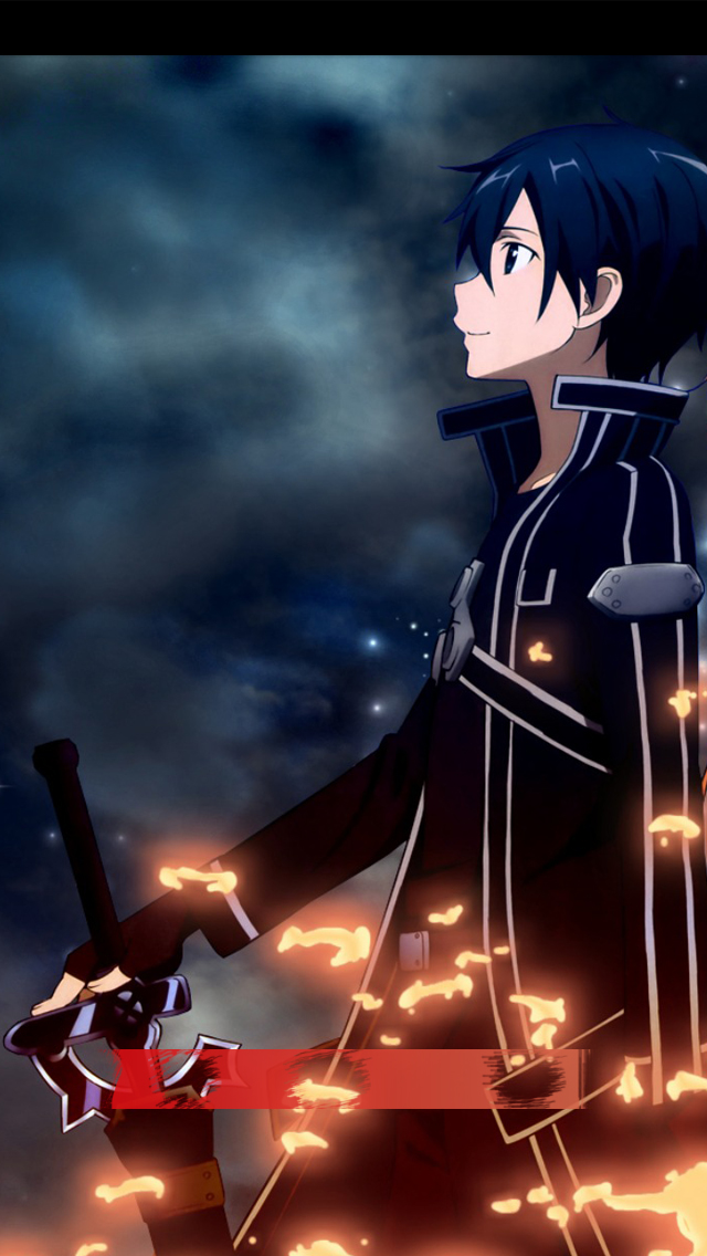 Sword Art Wallpaper Kirito Wallpapersafari