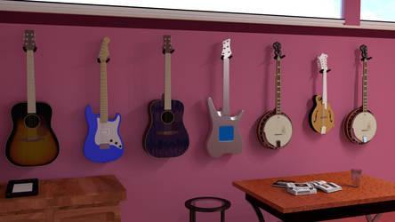 Guitar Room 2