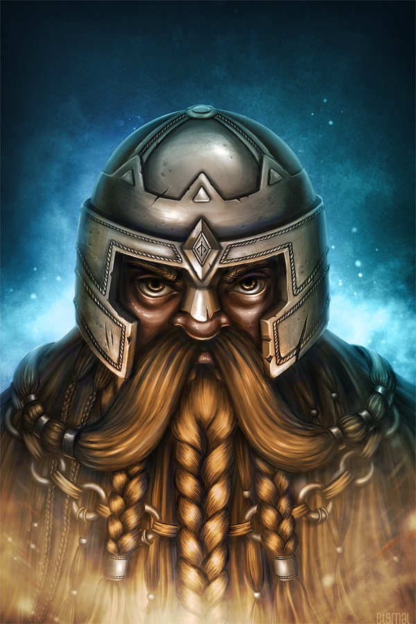 Dwarf Fighter by eternalyoung