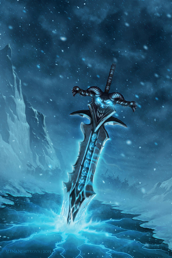 Frostmourne by eternalyoung
