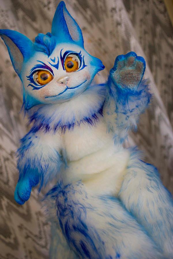 Snow 3 - Fantasy poseable cat by LunaSelenium