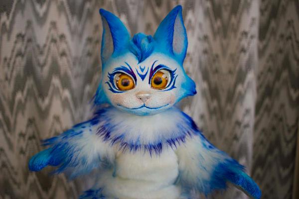 Snow 4 - Fantasy poseable cat by LunaSelenium