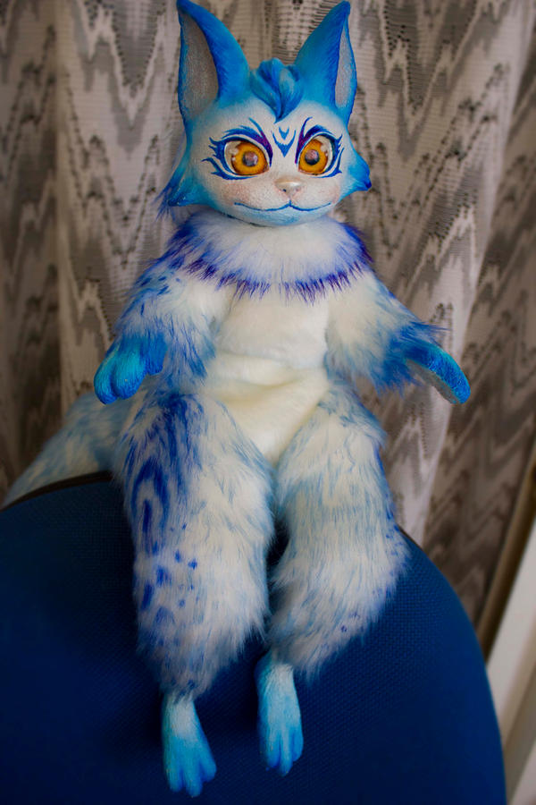 Snow 5 -Fantasy poseable cat by LunaSelenium