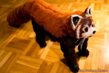Red Panda Poseable Doll 4 by LunaSelenium
