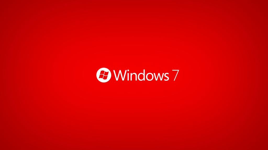 red windows 7 wallpaper by jeqz on deviantart