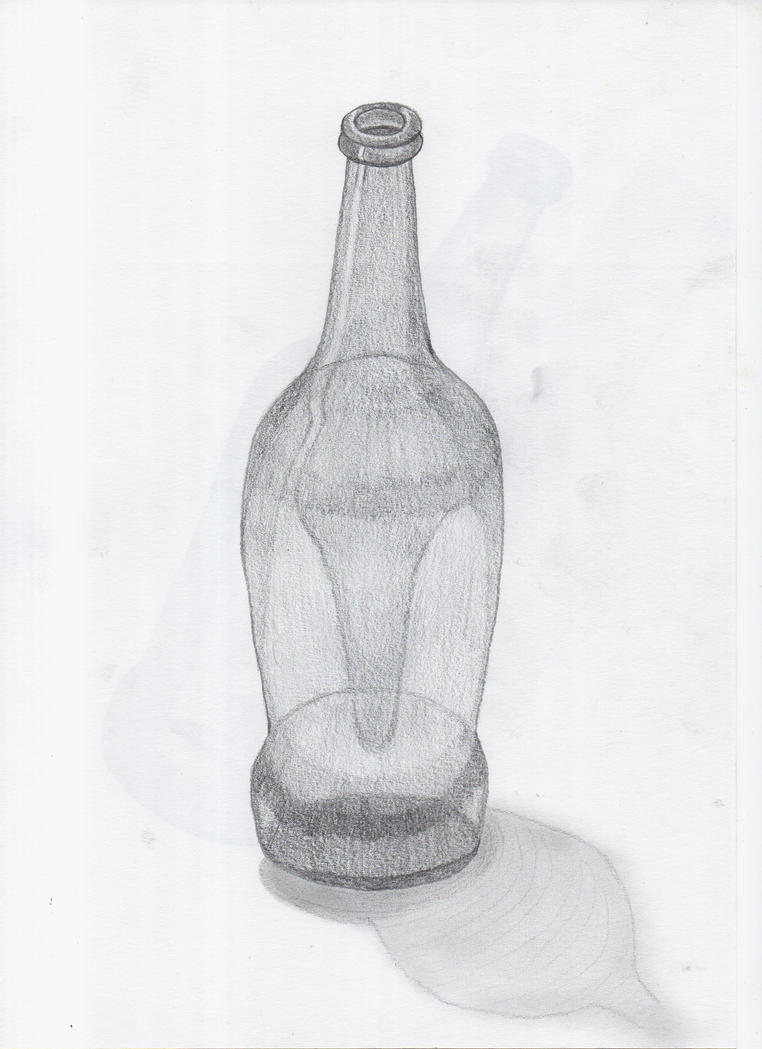 Object 01 - Bottle 01 by ChrisAntlaz on DeviantArt
