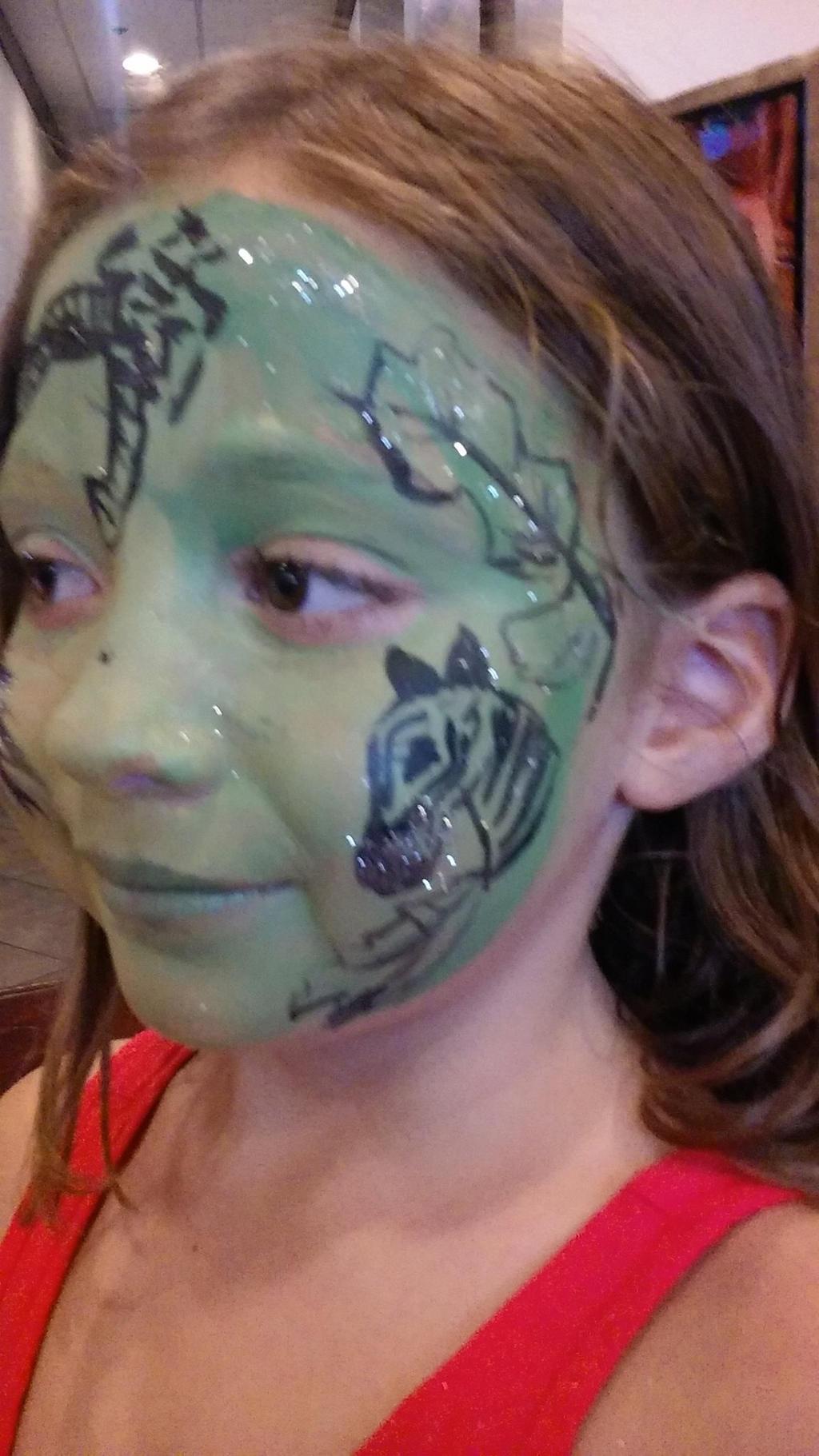 Zebra Face Paint By Funfacesballoon On Deviantart