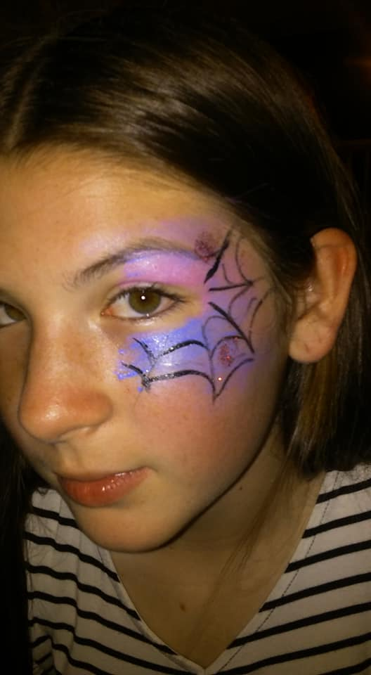 Spider Web Face Paint By Funfacesballoon On Deviantart