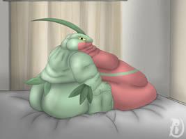 Grovyle lazy by Sakupex