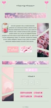 f2u - pink petals non-core custombox