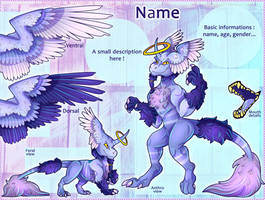 Points Reference Adopt #1 Lavender Angel - open