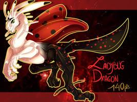 Points Adopt #22 Ladybug Dragon - closed