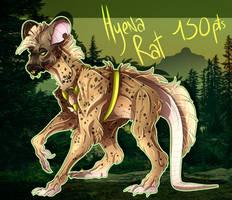 Points Adopt #23 Hyena Rat - closed