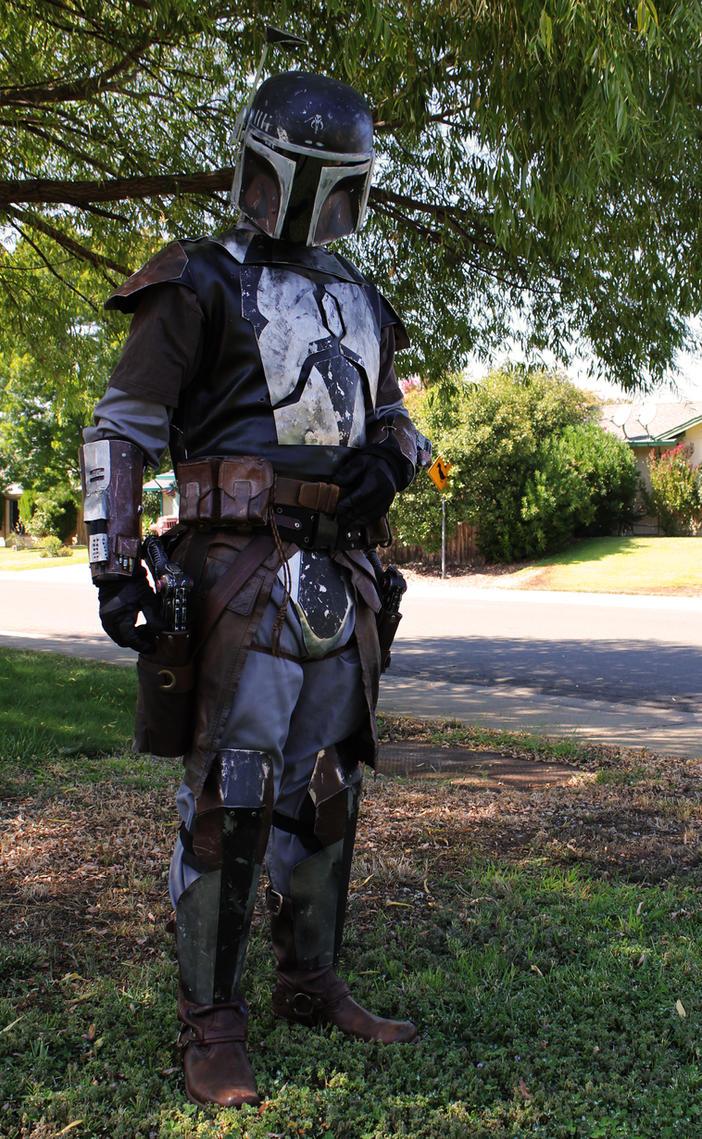 Mandalorian Armor V4 by JadenTracyn