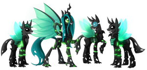 Chrissy And Evolved Changelings