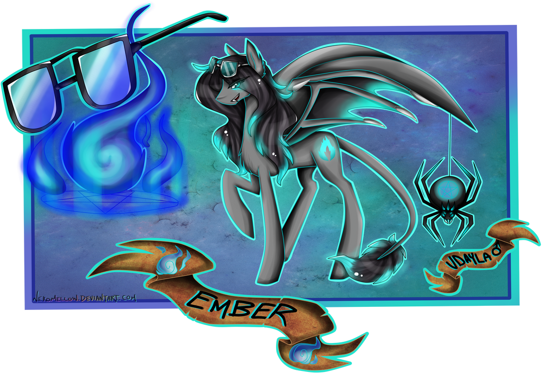 Character Card Ember by TechTalkPony