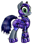 Pun Pony with Night Guard Armour