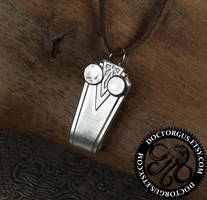 Spoon Handle Owl Pendant by Doctor-Gus