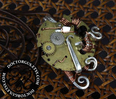 Steampunk Fork Pendant # 1 by Doctor-Gus