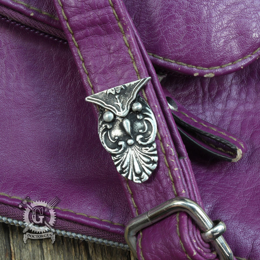 Spoon Owl Pin by Doctor-Gus