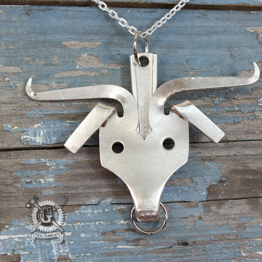 Longhorn Fork Pendant by Doctor-Gus