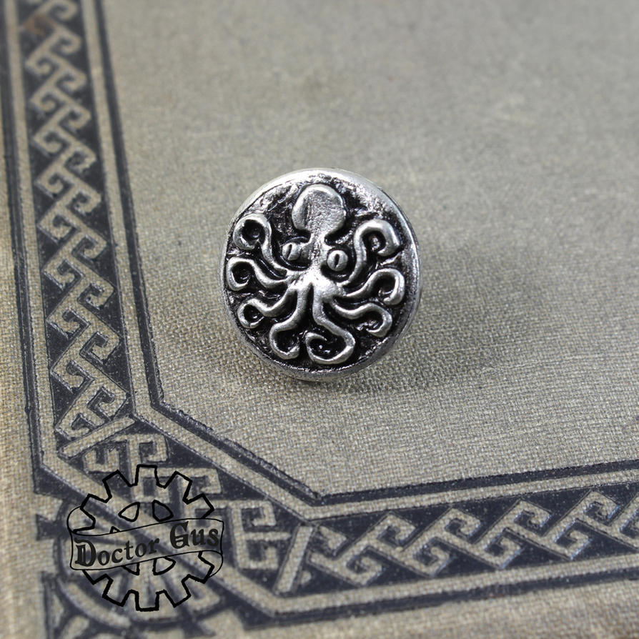 Octopus Tie Tack by Doctor-Gus