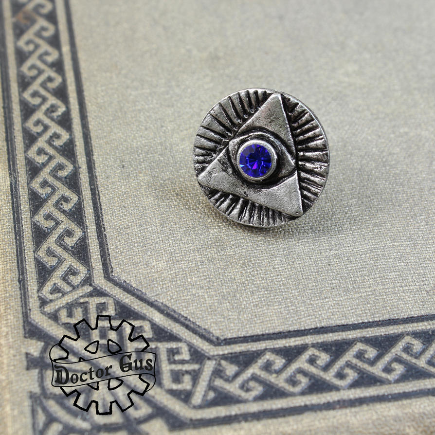 Eye of Providence Tie Tack by Doctor-Gus