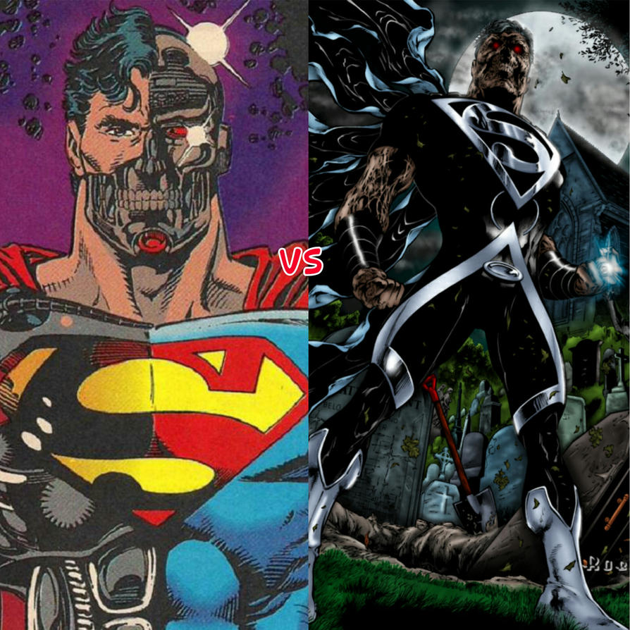 how to draw cyborg superman