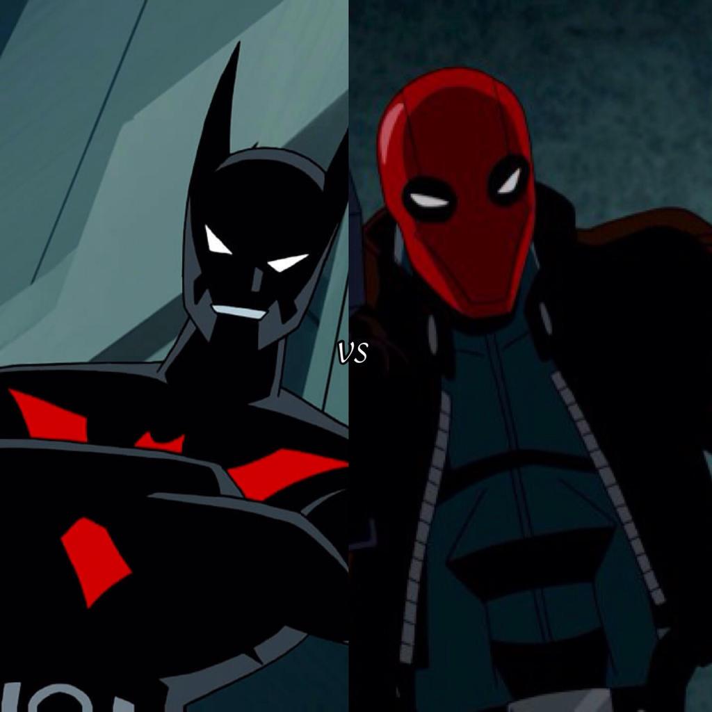 Batman beyond vs red hood by Justicewolf337 on DeviantArt