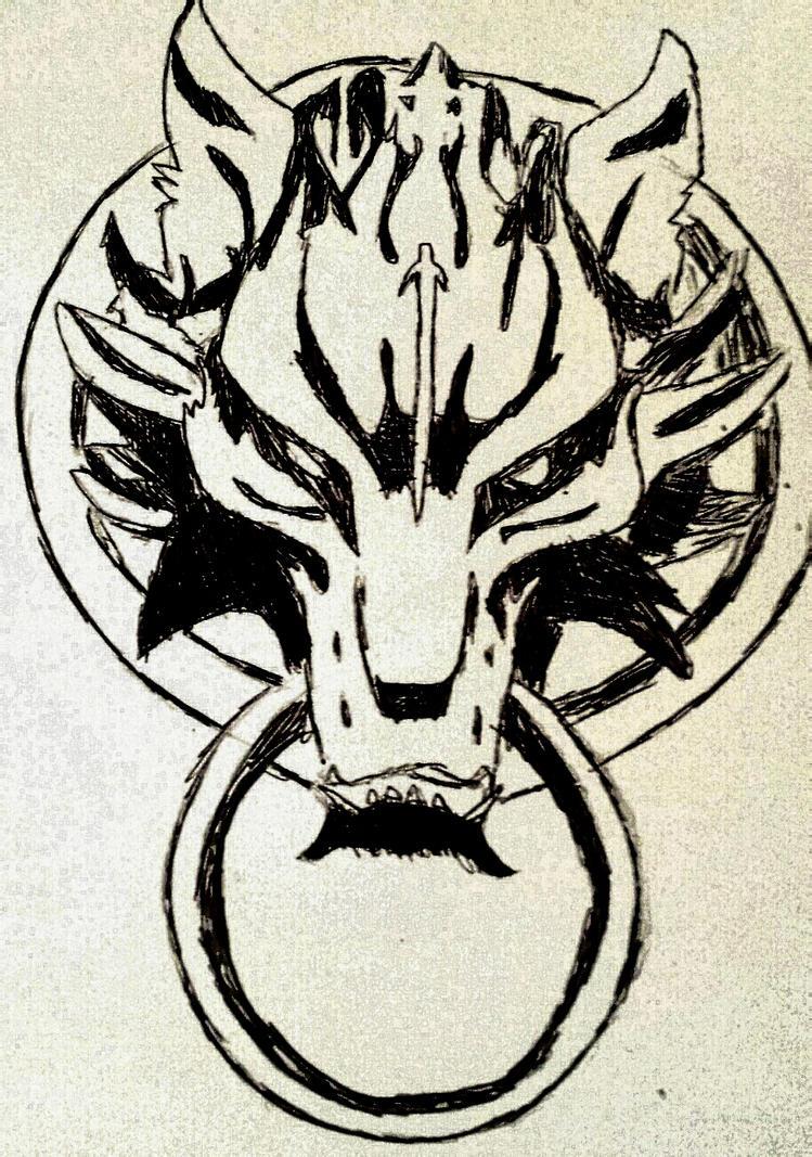 Final fantasy FENRIR symbol by Justicewolf337 on DeviantArt