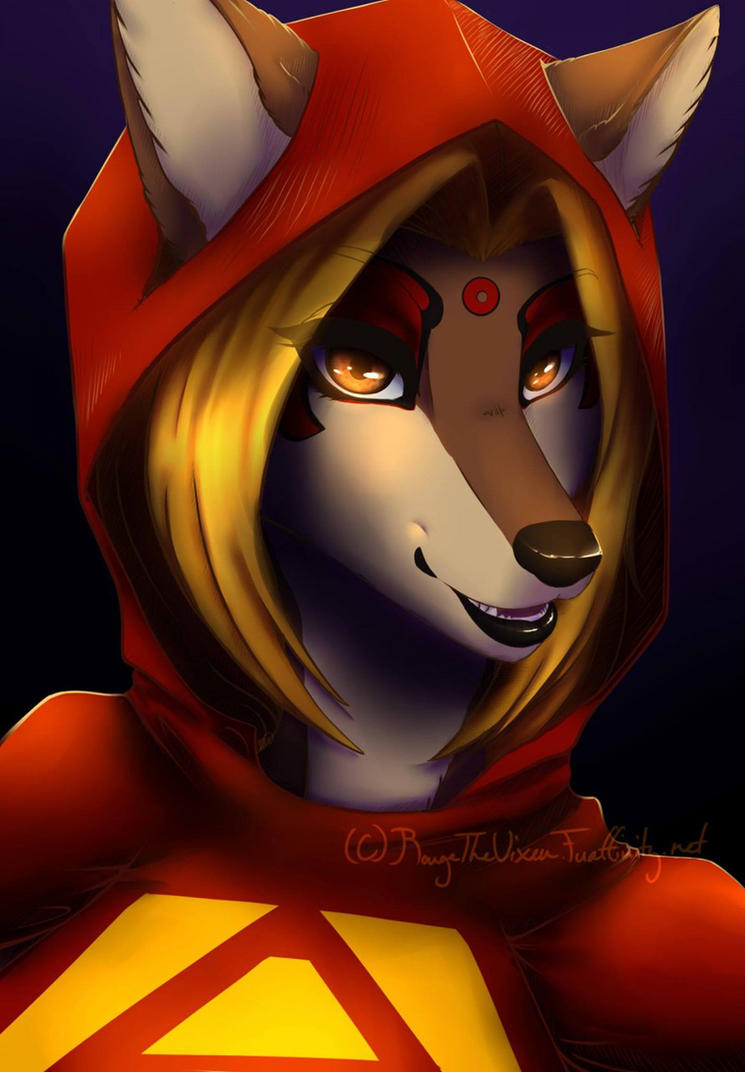 Alisa wolf  Commission By Rougethevixen by Justicewolf337