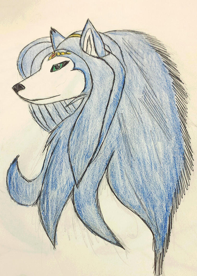 tribal krystal by Justicewolf337