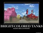 [GuP Demo] Bright-Colored Tanks