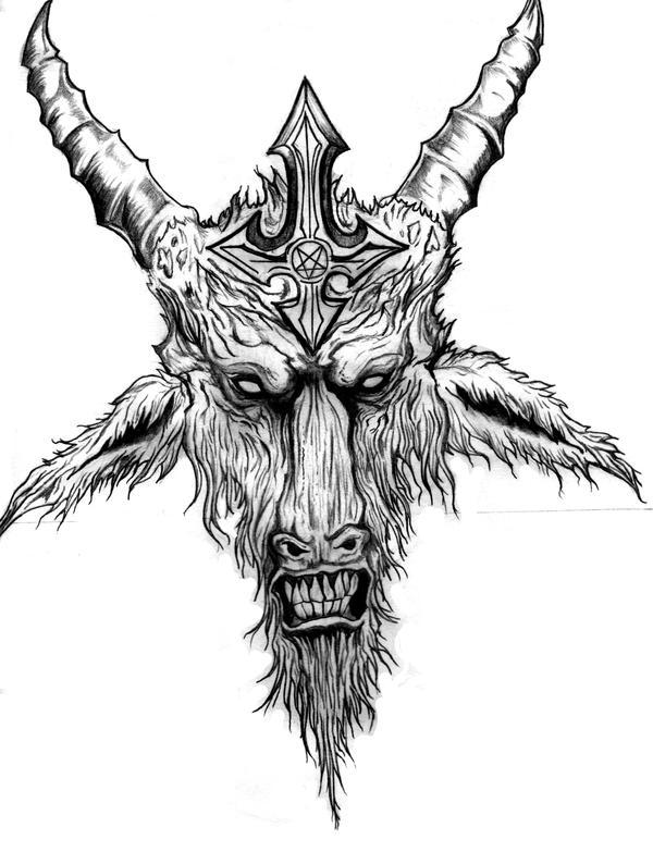 Goat Of Mendes by MalignantImpression on DeviantArt