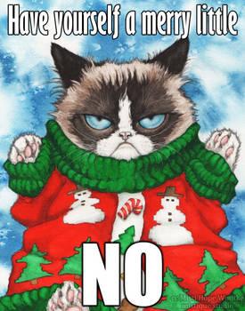 Grumpy Cat's Ugly Sweater, the Meme