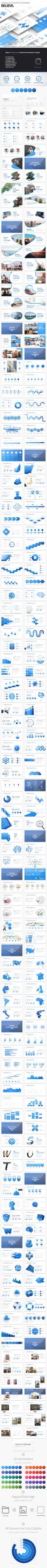 Believe - Multipurpose PowerPoint Presentation by Pulsecolor