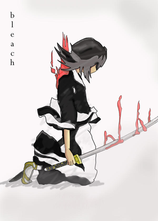 Fallen Rukia Coloured by snapchap