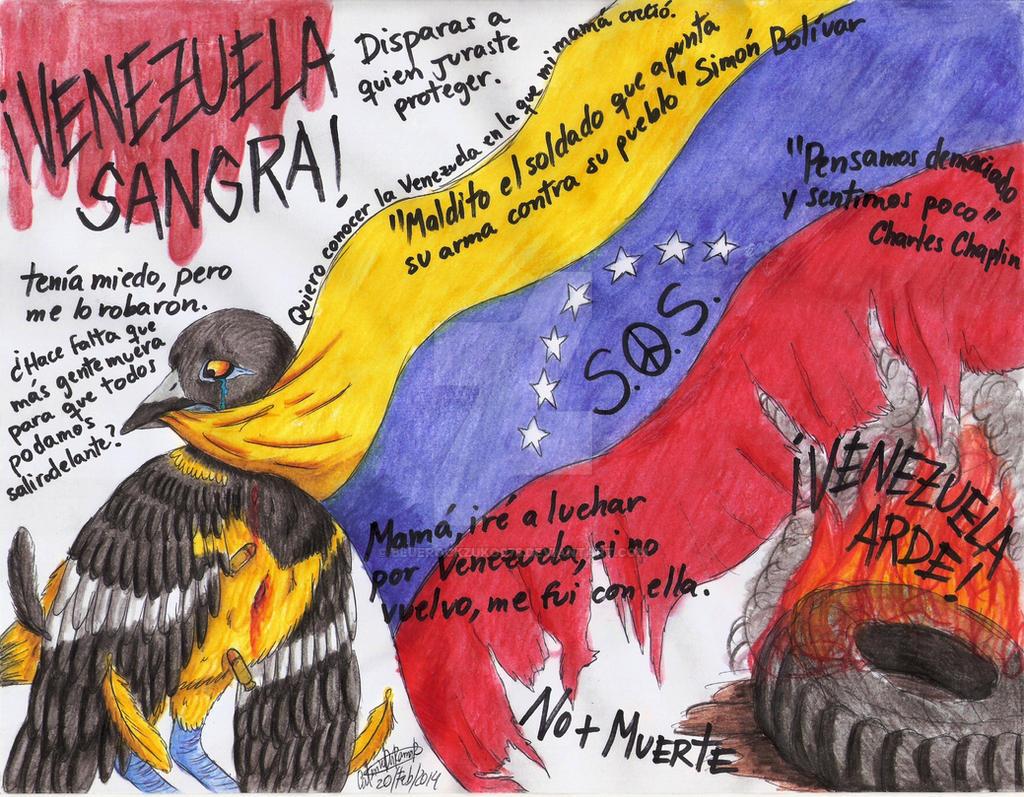 Venezuela: Febrero 2014 by bluerockzuko975