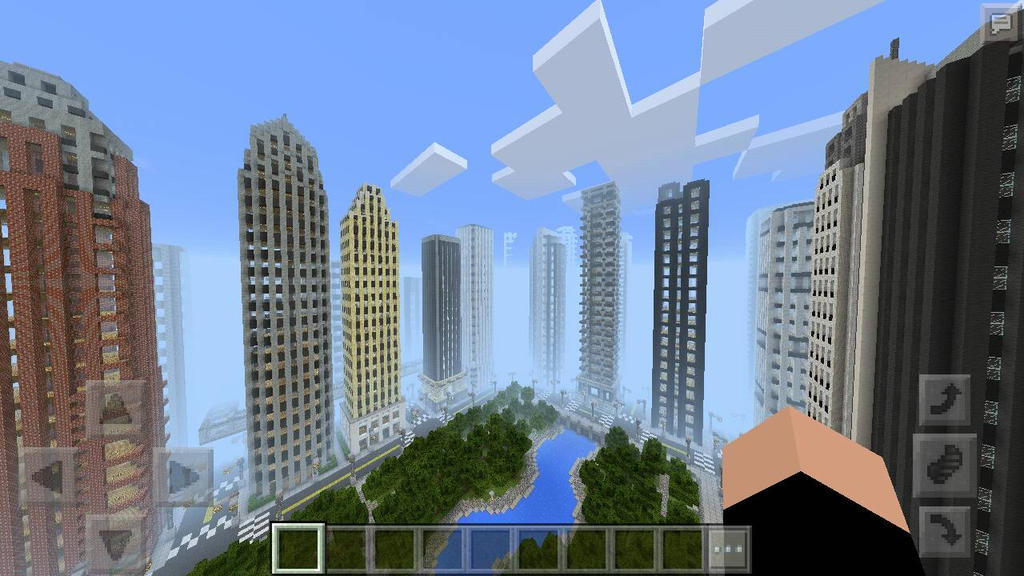 Awesome City In Minecraft  by TheFdude