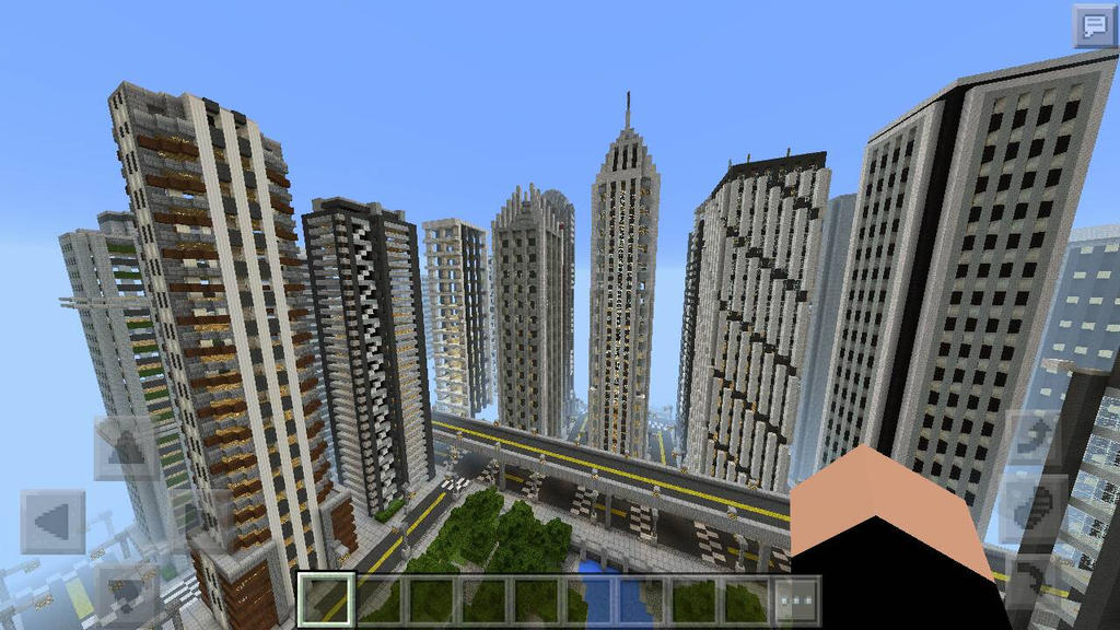 Awesome City In Minecraft 2 by TheFdude