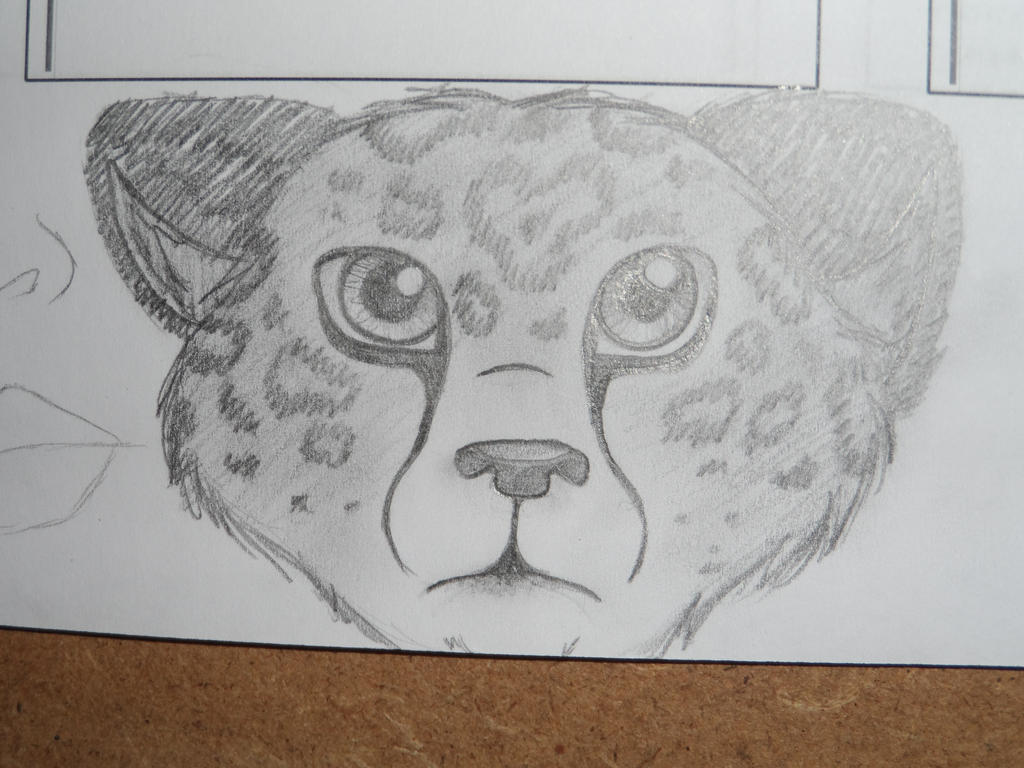 Leopard Doodle by FreckledAndSpeckled