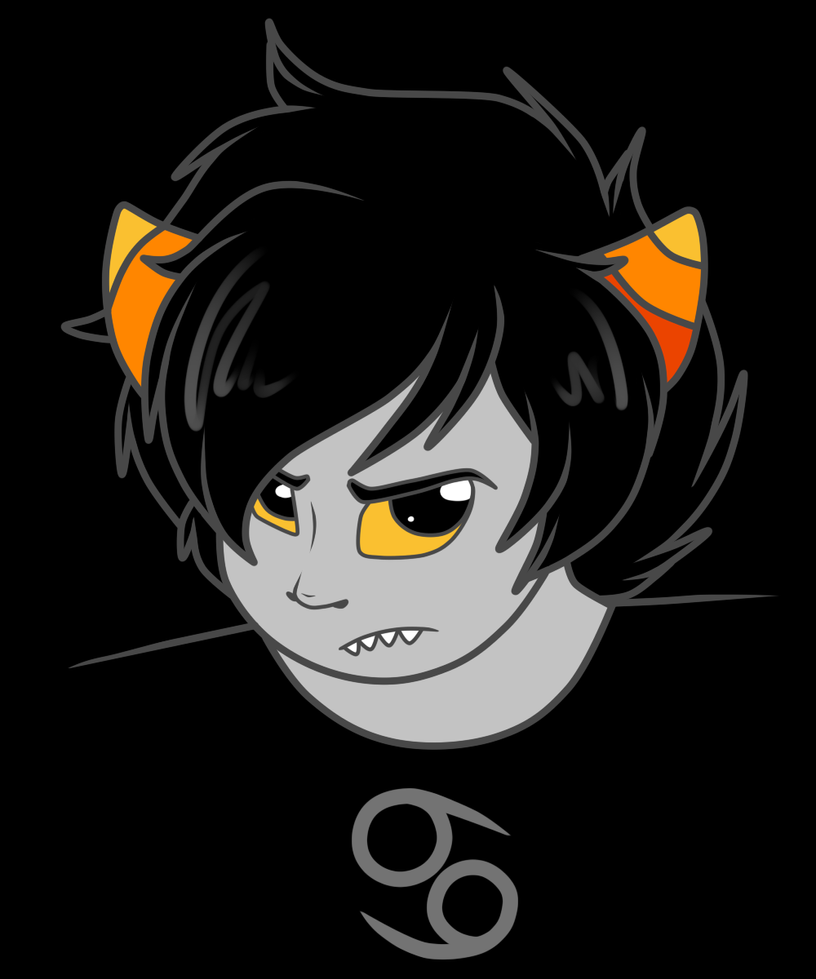 Karkat by FreckledAndSpeckled