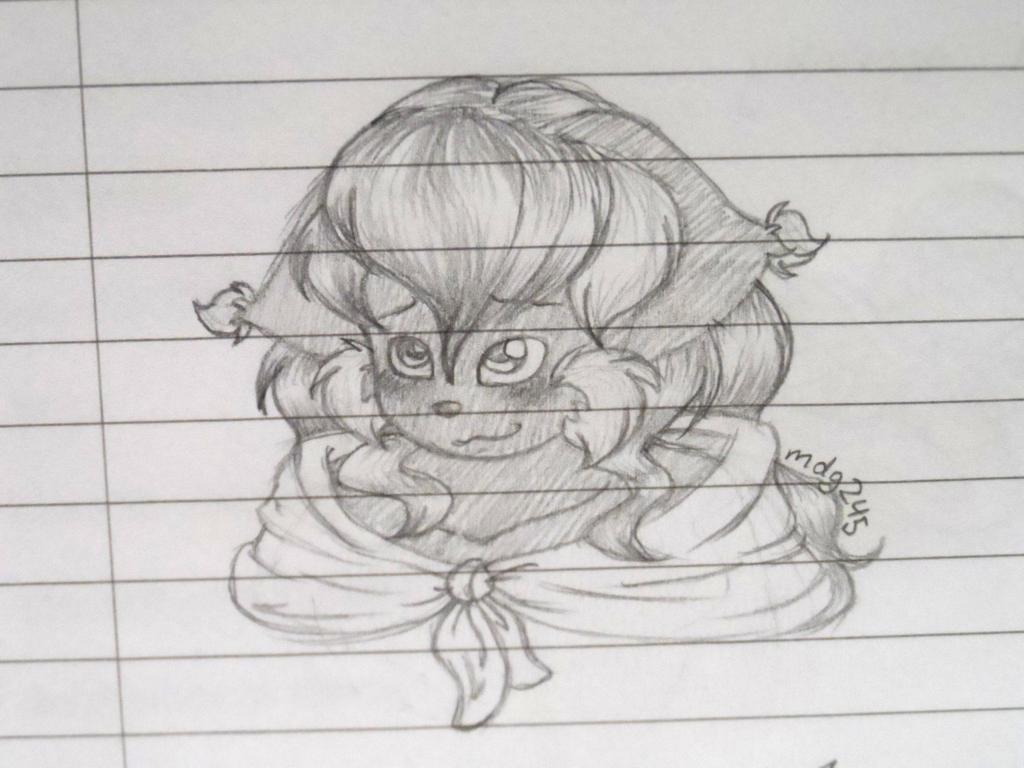 Blush -sketch- by FreckledAndSpeckled