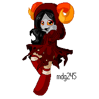 Pixel Aradia by FreckledAndSpeckled