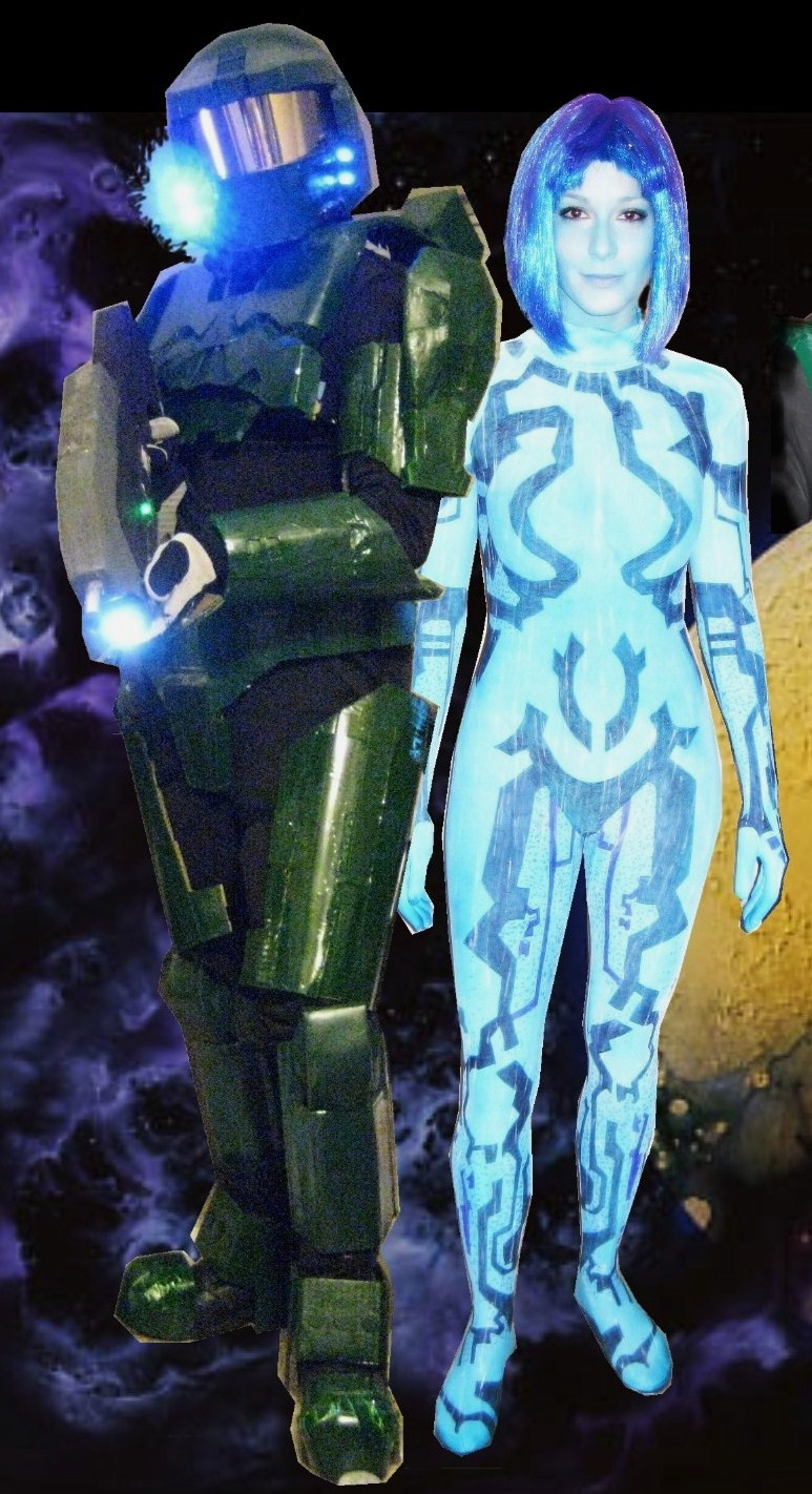 Cortana from halo masterbates nude image